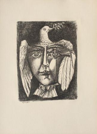 リトグラフ Picasso - Le Visage de la Paix (B. 687)