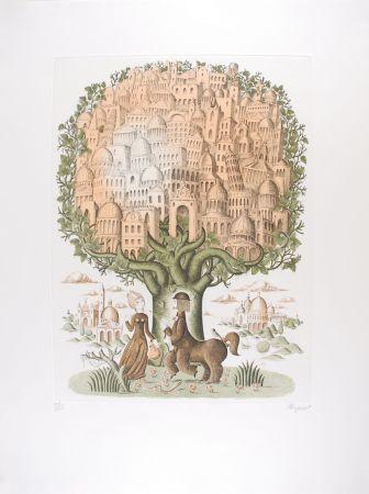 彫版 Peynet - Le Zodiaque de Peynet - LE SAGITTAIRE
