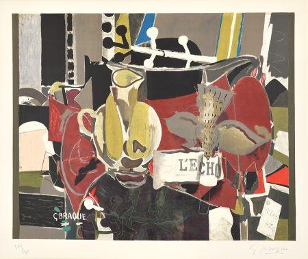 リトグラフ Braque - L'Echo (The Echo)