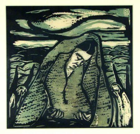 木版 Koller-Pinell - Leid (Grief)