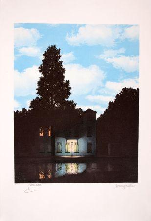 リトグラフ Magritte - L'Empire des Lumières - The Empire of Light