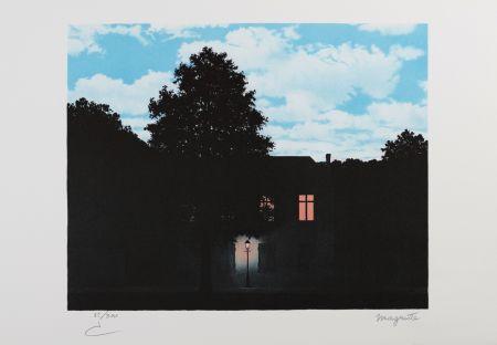 リトグラフ Magritte - L'Empire Des Lumières (The Empire Of Light)