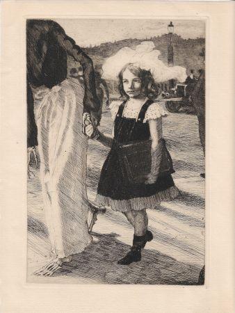 彫版 Roux - L'enfant et la mort