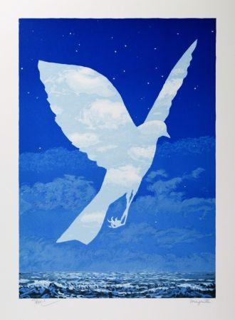 リトグラフ Magritte - L'Entrée en scène