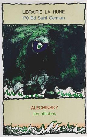 リトグラフ Alechinsky - Les Affiches  Librairie  à La Hune