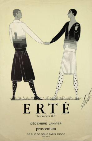 オフセット Erte - Les Annes 30