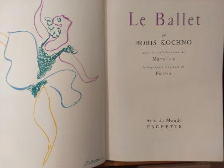 挿絵入り本 Picasso - Les Ballet