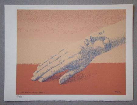リトグラフ Magritte - Les bijoux indiscrets, 1963