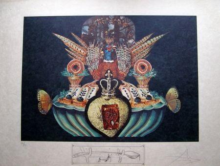 リトグラフ Dali - LES CHAIRS MONARCHIQUES