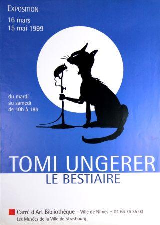 オフセット Ungerer - Les Chats Le Bestiaire