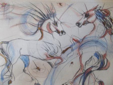 彫版 Guiny - Les chevaux de Jupiter