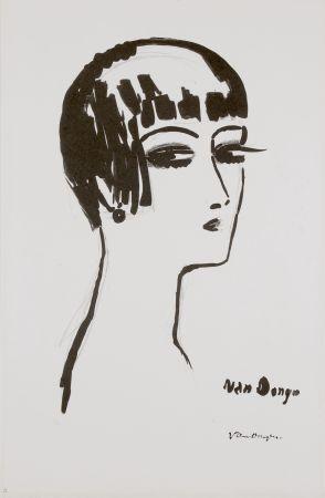リトグラフ Van Dongen - Les Cheveux Courts, 1th State