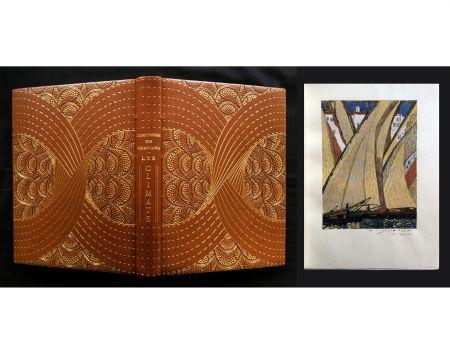 挿絵入り本 Schmied - LES CLIMATS. L'exemplaire de F.-L. Schmied avec gouaches originales, suites signées dans une reliure de Cretté.