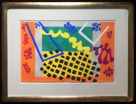 ステンシル Matisse - LES CODOMAS. Pochoir original de Jazz  (Album 1947)