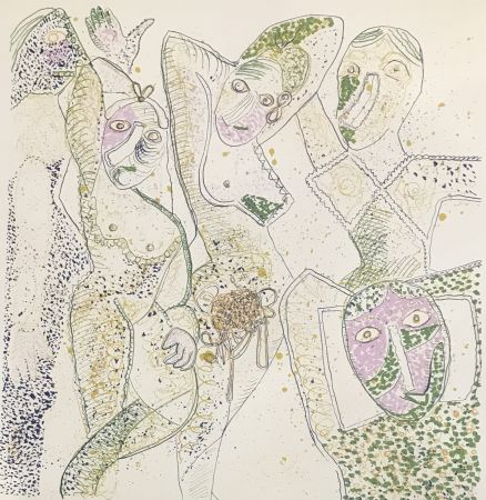 多数の Baj - Les Demoiselles D'Avignon