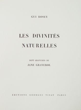 挿絵入り本 Graverol - Les divinités naturelles