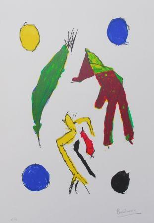 リトグラフ Ionesco - Les esprits et leurs lunes