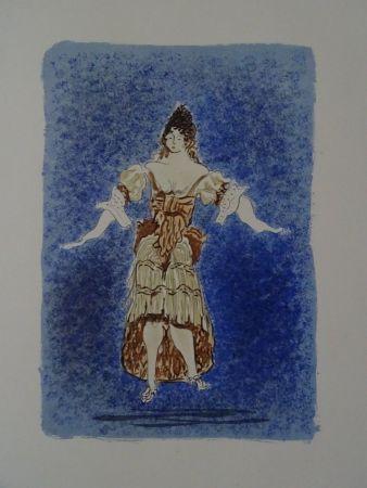 リトグラフ Braque - Les Facheux