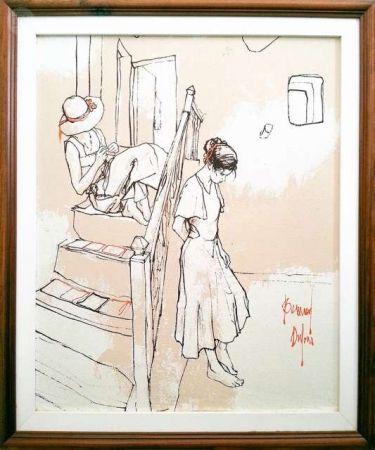技術的なありません Dufour  - Les filles sur les escaliers