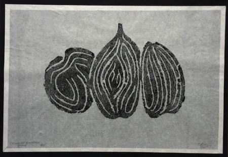 エッチング Ubac - Les Fruits I