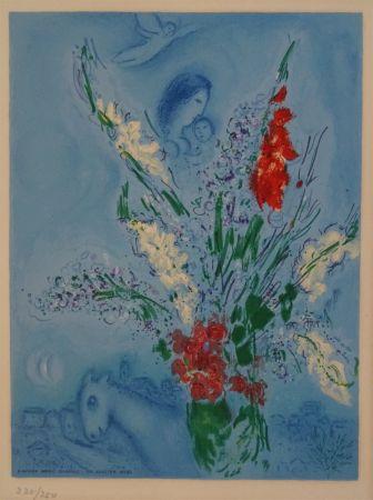 リトグラフ Chagall (After) - Les Glaieules