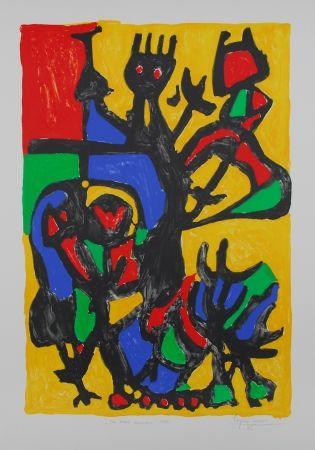 リトグラフ Ionesco - Les hauts danseurs