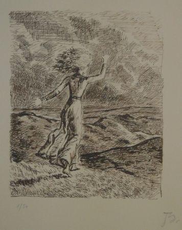 リトグラフ Balthus - Les hauts de hurlevent 2