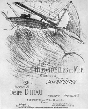 リトグラフ Toulouse-Lautrec - Les Hirondelles de Mer