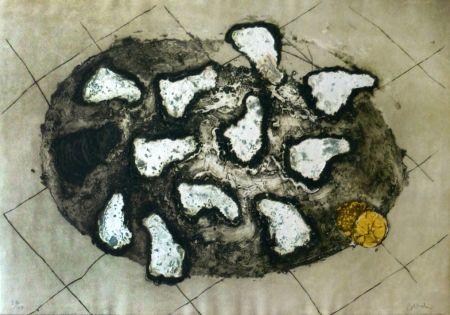 彫版 Barcelo - Les huitres