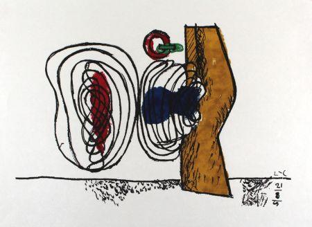 リトグラフ Le Corbusier - Les huits