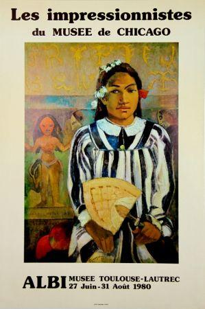オフセット Gauguin - Les Impressionistes du Musée de Chicago