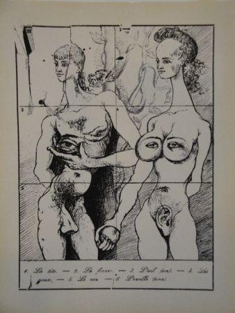 挿絵入り本 Dali - Les métamorphoses érotiques.