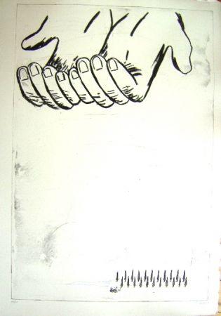 彫版 Cucchi - Les Mains
