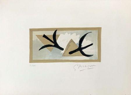リトグラフ Braque - Les Martinets