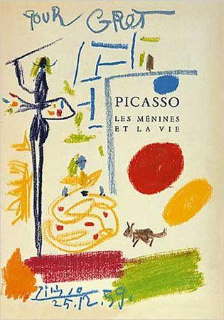 リトグラフ Picasso - Les Menines Et La Vie