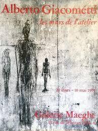 オフセット Giacometti - Les murs de l'atelier