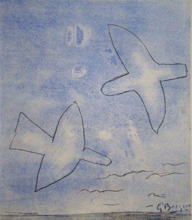 ステンシル Braque (After) - Les oiseaux