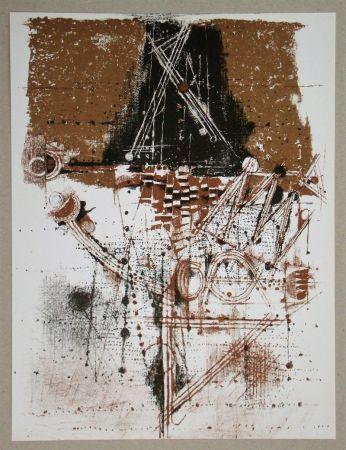 リトグラフ Friedlaender - Les oiseaux