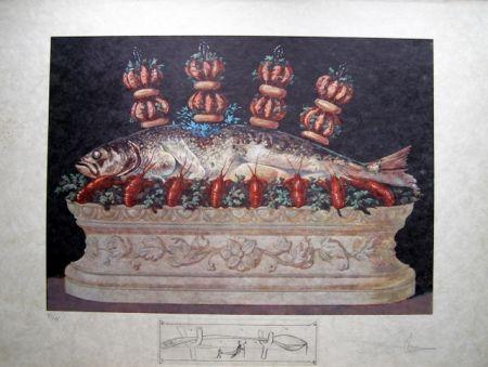 リトグラフ Dali - LES PANACHES PANACHÉS.