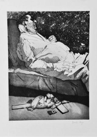 エッチングと アクチアント Rego - Les Planches Courbes