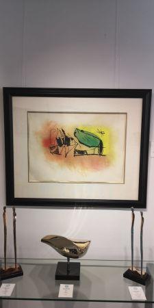 エッチングと アクチアント Miró - Les Scarabees