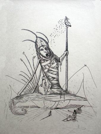 リトグラフ Dali - Les Songes Drolatiques De Pantagruel 15