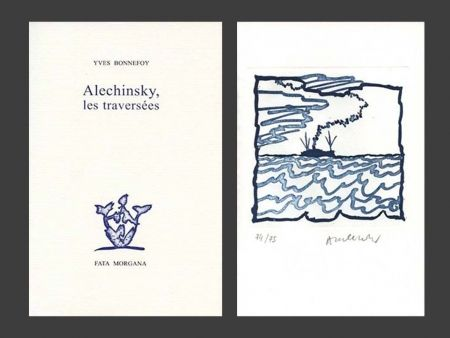 挿絵入り本 Alechinsky - Les Traversées