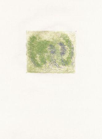 エッチング Fautrier - Les trois arbres (Fautrier l'enragé)