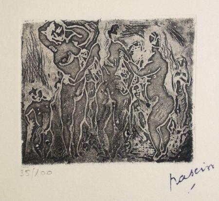 彫版 Pascin - Les trois graces