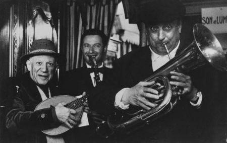 写真 Clergue - Les Trois Musiciens