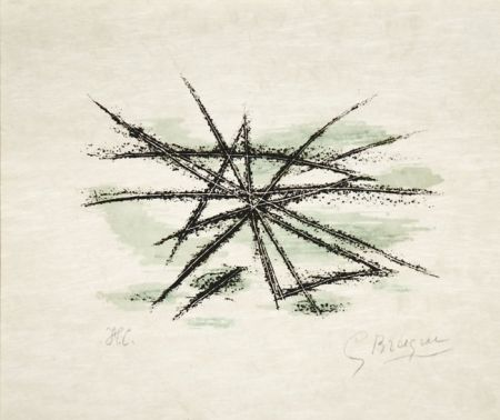 リトグラフ Braque - L'Etang From Lettera Amorosa, 1963
