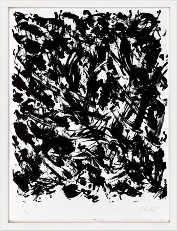 リトグラフ Uecker - Leuchtend I, 2005
