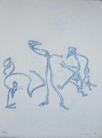 リトグラフ Ernst - Lewis Caroll's Wunderhorn