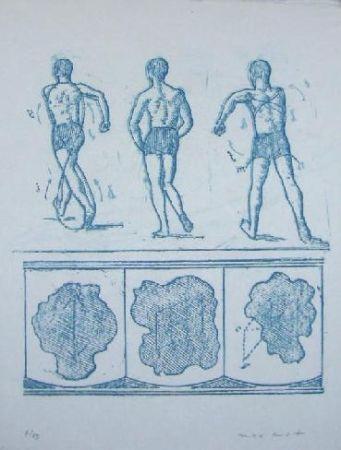 リトグラフ Ernst - Lewis Carroll's Wunderhorn 13
